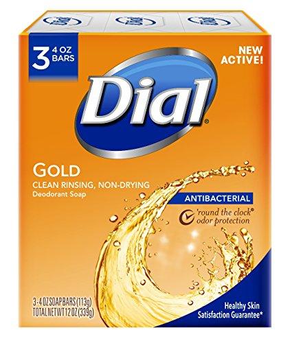 Dial antibacterial desodorante jabón
