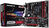 GIGABYTE GA-AB350M-Gaming 3 AMD Ryzen CPU AM4 Socket DDR4 PCIe Gen3 USB 3.1 GB LAN Micro ATX Motherboard,Black