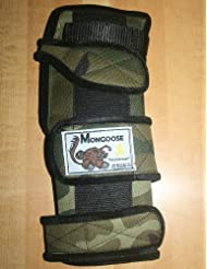 Mongoose Optimum bowling Wrist Support Left hand, Large, Camo by Mongoose Products