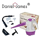 Hand Held Steamer Steam Machine Purple Shower Windows Tiles Grout Oven Cleaning