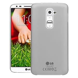 Screenward AIR CASE Case Back Cover Slimmest Lightest Case for LG G2 (Grey)