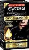 Syoss Saint Algue Oléo Suprême Coloration Permanente 1-10 Noir Intense