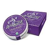 Alteya Bio Mehrzweckbalsam Lavendel 40ml – USDA Organic-zertifiziert Rein Natürlich - Hautpflege für Körper, Hände und Füße auf der Basis von ätherischem Lavendelöl in therapeutischer Qualität