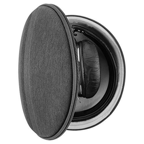 Geekria UltraShell - Funda para Auriculares Sennheiser Momentum 3 inalámbrico, PXC 550 II, Momentum 2, HD 4.50, HD 4.40, Funda Protectora rígida de Repuesto para Auriculares con Espacio para Piezas