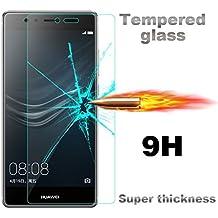 Huawei G8 Protector de Pantalla, Huawei G7 Plus Protector de Pantalla, Candy House Cristal Vidrio Templado Film Protector Pantalla Delgada Glass Screen Protector para Huawei Ascend G8 / G7 Plus / Huawei GX8