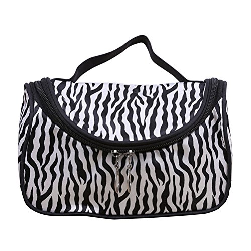 frcolor congedarci portatile di trucco zebrato Organizzatore deposito borsa