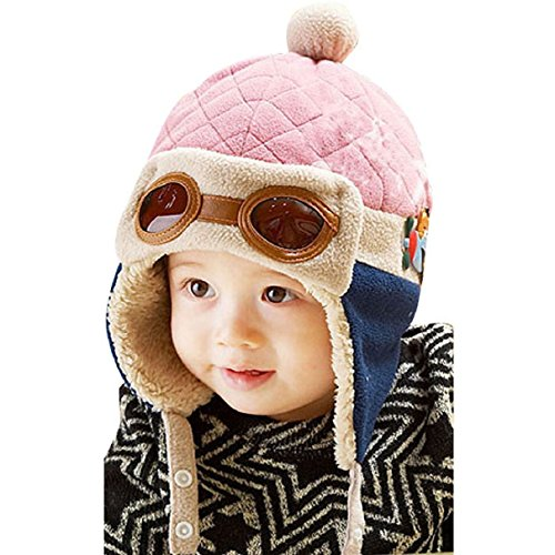 WITERY Unisex Bambini Bambino Cappelli Inverno Caldo Cappello Beanie di