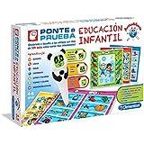 Clementoni - Ponte a prueba, juego de educación Infantil (550692)