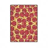 Qihua Decke Pizza Komfort Design Home Dekoration Polyester Stoff Maschine Waschen 58