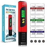 MAOZUA PH Messgerät ATC Funktion Wasserqualität Tester mit LCD Display ± 0.01pH Hohe Genauigkeit