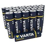 Varta Energy - Pack de 30 Pilas Alcalinas AA / LR6 / Mignon