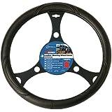 Sumex 2505030 - Funda De Volante PVC Para Furgoneta, Color Negro