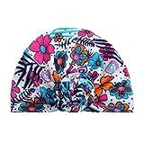 BZLine® Style Indien Nœud Turban Coton Bonnet à Motif Floral Chaud Hiver pour Bébés 3 Mois - 6 Ans (A)