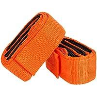 MOKE 2 x sangles de mouvement corde déplacer la ceinture pour le mobilier de levage armoire de lit Heavy Bulky articles ergonomiquement conçu Charge maximale de 2000 lbs