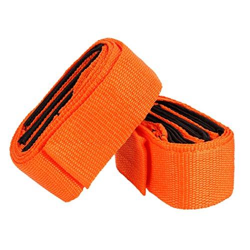 Moke 2 x Mover correas cuerda de la correa para levantar muebles pesados cama Armario Artículos Voluminosos de diseño ergonómico Carga máxima 2000 libras
