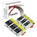 PerfectPrint - 6cartuchos de tinta PerfectPrint compatibles Reemplazar 30cl 30x l para impresora Kodak ESP 1.2, 3.2, 3.2s C110C310C315ESP Office 2170HERO 3.15.1