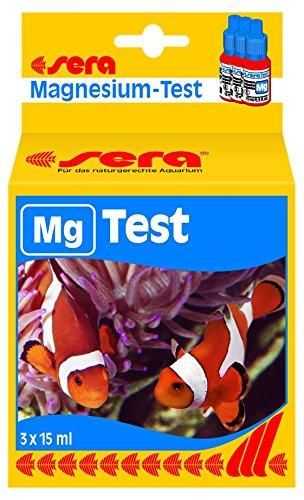 sera 04714 Mg-Test 15 ml - Magnesium Test zur einfachen Bestimmung des Magnesiumgehaltes im Meerwasseraquarium