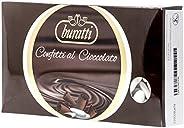 Buratti Confetti al Cioccolato, 1000 gr, Colori Assortiti