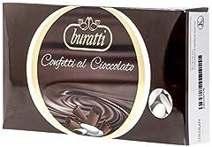 Idea Regalo - Buratti Confetti al Cioccolato, Bianchi - 1000 g