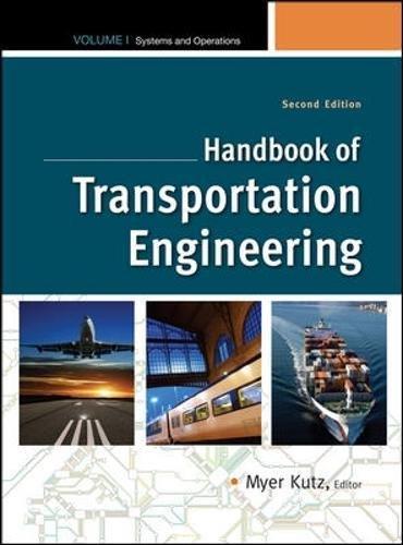 1: Handbook of Transportation Engineering Volume I, 2e (Mcgraw-Hill Handbook)