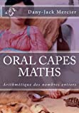 ORAL CAPES MATHS : Arithmétique des nombres entiers