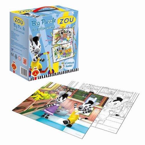 Big Puzzle do kolorowania 2x12 ZOU