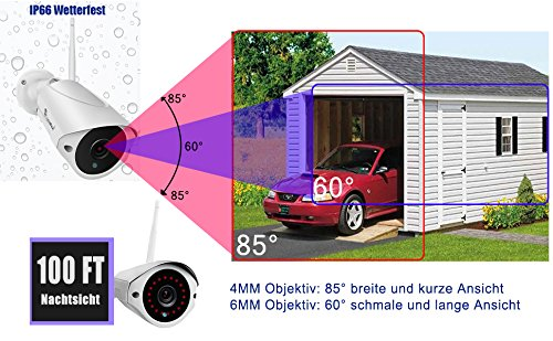luowice-Audio-inalmbrico-Juego-de-Vigilancia-con-monitor-WS9008CH-8C-1200V