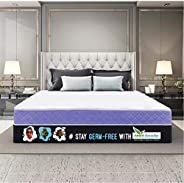 SleepX Ortho Cool Gel Memory Foam Mattress, Queen Bed Size (78x60x8)