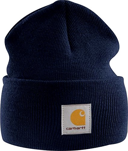 Carhartt Watch Hat Beanie A18 Strickmütze (dunkelblau)