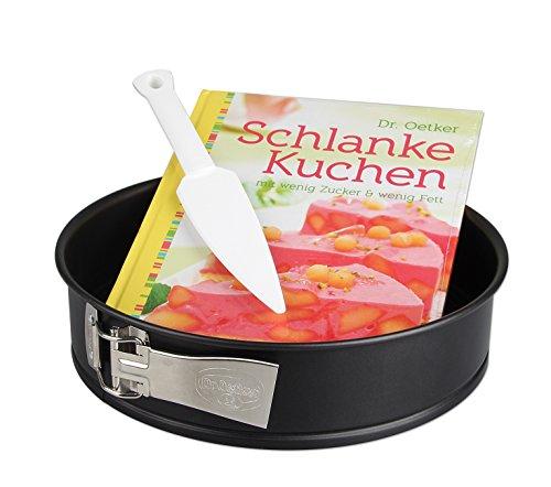 """Dr. Oetker Set 1403 bestehend aus Springform und Backbuch \""""Schlanke-Kuchen\"""""""