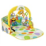 Fisher Price 3 in 1 Convertible Car Gym,...
