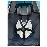 Ersatzsitzbezug für Kinderanhänger 'Croozer Kid for 1 / Mono' ab 2012, dunkelblau (1 Stück)