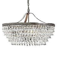 Lampadari ZJJ europeo Pastorale circolare Living Room lampada a cristallo Ristorante Cristallo