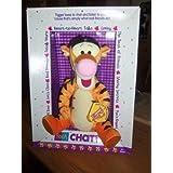 Disney Pooh Chat Pal Tigger Plush 11 by Disney