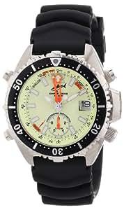 Chris Benz Unisex-Armbanduhr Analog Kautschuk CB-A-NEON-KB