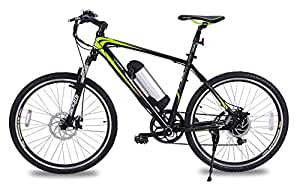 Greenedge Unisex CS2 Electric Bike, Black, 19-inch