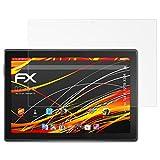 atFolix Schutzfolie kompatibel mit Lenovo Tab 4 10 TB-X304 Bildschirmschutzfolie, HD-Entspiegelung FX Folie (2X)