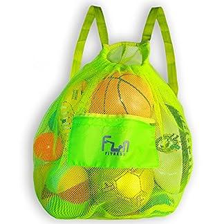 FunFitness – Mochila Grande para balón de fútbol, Baloncesto, natación, Juguete de Piscina
