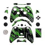 Xbox 360® Gehäuse für wireless Controller - Green Splatter gebraucht kaufen  Wird an jeden Ort in Deutschland