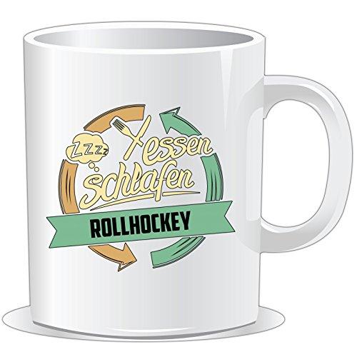getshirts - RAHMENLOS® Geschenke - Tasse - Sport Rollhockey - uni uni