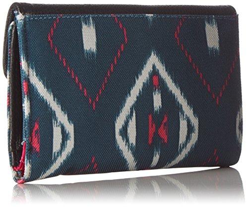 Dakine, Portafoglio Donna Lexi, Multicolore (highland), 10 x 15 x 3 cm salima