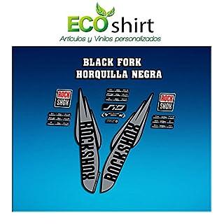 PEGATINAS STICKERS Fork Rock Shox SID WC World Cup 2017AM126Aufkleber Decals autocollants Adesiv, grau