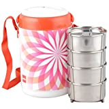 Cello Mark Insulated 4 Container Lunch C...