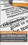 Les crit�res SMART pour un objectif s...