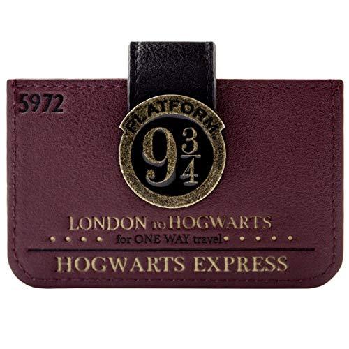 Kostüm Voldemort Muster - Harry Potter London 9 3/4 Fahrkarte Portemonnaie Geldbörse Rot