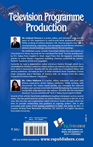 Television Programme Production: Various Activities Studios Use To Produce a Show