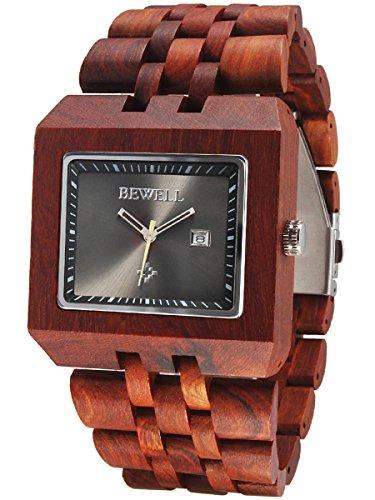 alienwork-montre-quartz-bois-massif-naturel-quartz-handmade-bois-de-santal-rouge-noir-rouge-um017a-0