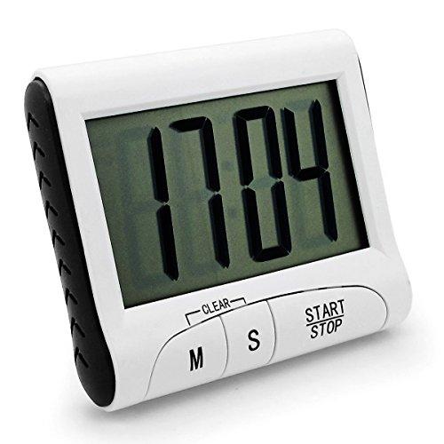 ONEDONE Magnetischer Küchentimer Küchenuhr Stoppuhr Wecker Küche EieruhrTimer Alarm (1)