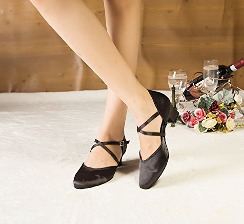 Miyoopark , Salle de bal femme Black-5cm heel