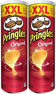 Pringles Original Flavored Chips 200 grams (Pack of 2 cans)